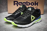 Кроссовки женские 12125, Reebok Harmony Racer, черные, [ 38 40 ] р. 38-24,2см.