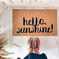 Дверний килимок Hello sunshine