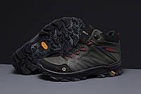 Зимние мужские кроссовки 31561, Merrell Vibrum (мех), зеленые, [ 41 ] р. 41-27,0см.