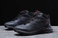Зимние мужские кроссовки 31762, Solomon SuperCross, темно-серые, [ 41 42 43 44 ] р. 41-26,4см.