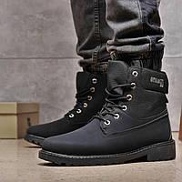 Зимние мужские ботинки 31871, Difeno (на меху, в коробке), черные, [ 41 42 43 44 45 ] р. 41-26,0см.