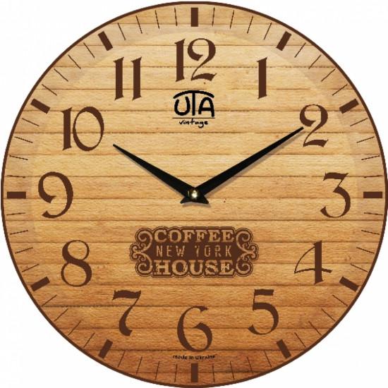 Настенные Часы Vintage Кофейный дом
