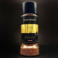 Кофе растворимый Davidoff Fine Aroma 100г в стеклянной банке Швейцария