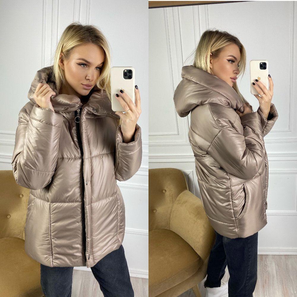 Куртка  женская прочная плащевка очень мягкая , + 250 синтепон , разные цвета