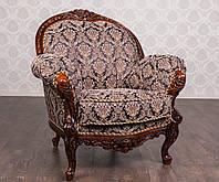 """Мягкое кресло Барокко """"Ника"""" от производителя, мягкая мебель стиль Барокко, французский стиль, классика"""