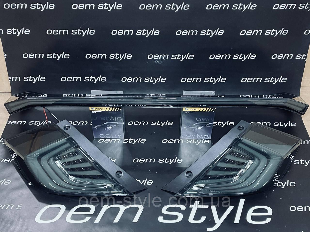 Фонари LED оптика Honda Civic 2016-2019