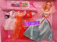 "Кукла типа ""Барби"" 8003 с набором одежды"