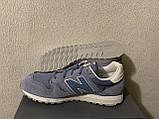 Кроссовки New Balance 520 Deep Porcelain Blue (43) Оригинал WL520CB, фото 4