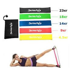 Фитнес-резинки EsonStyle 5 в 1 + мешочек для хранения!