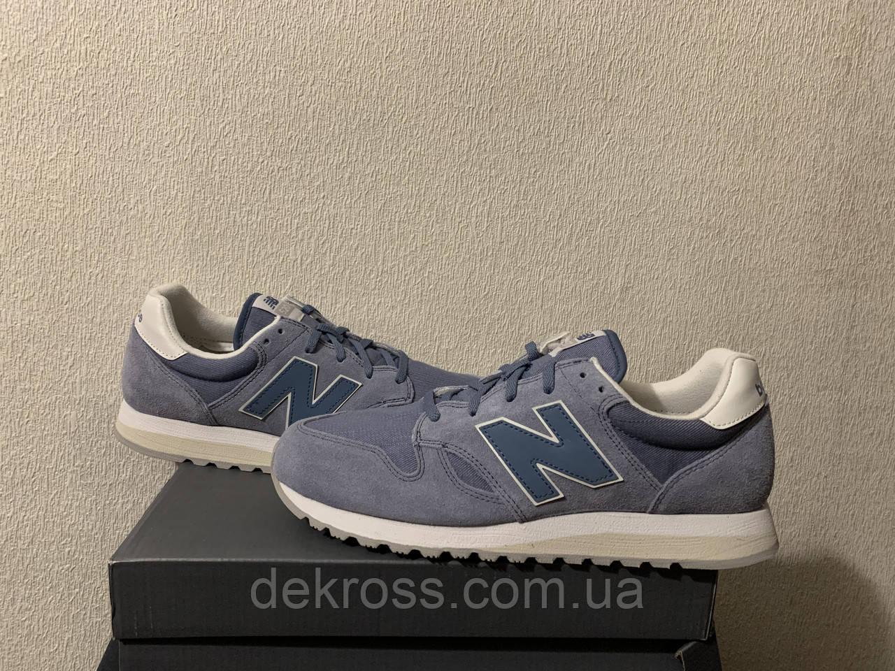 Кроссовки New Balance 520 Deep Porcelain Blue (43) Оригинал WL520CB