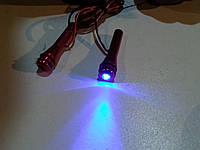 Подсветка диодная дверных защелок №68025 (синяя)., фото 1