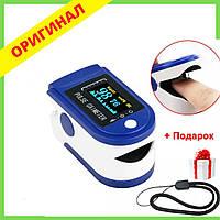 ПульсОксиметр датчик пульса кислорода медицинский в крови на палец oximetr пульсометр оксометр ak20 детей