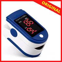 ПульсОксиметр датчик пульса кислорода медицинский в крови на палец pulse oximeter пульсометр c101h1  оксометр