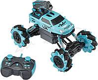 Танк на радіокеруванні ZIPP Toys Rock Crawler 338-323. Колір - блакитний/зелений/червоний, фото 1