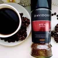 Кофе растворимый Davidoff Rich Aroma 100г в стеклянной банке Швейцария, фото 1