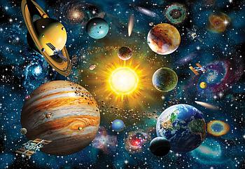 Пазлы Anatolian 2000 элементов Солнечная система Гарантия качества Быстрая доставка
