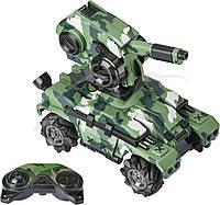 Танк на радіокеруванні ZIPP Toys CamoFighter T109S. Колір - хакі, фото 1