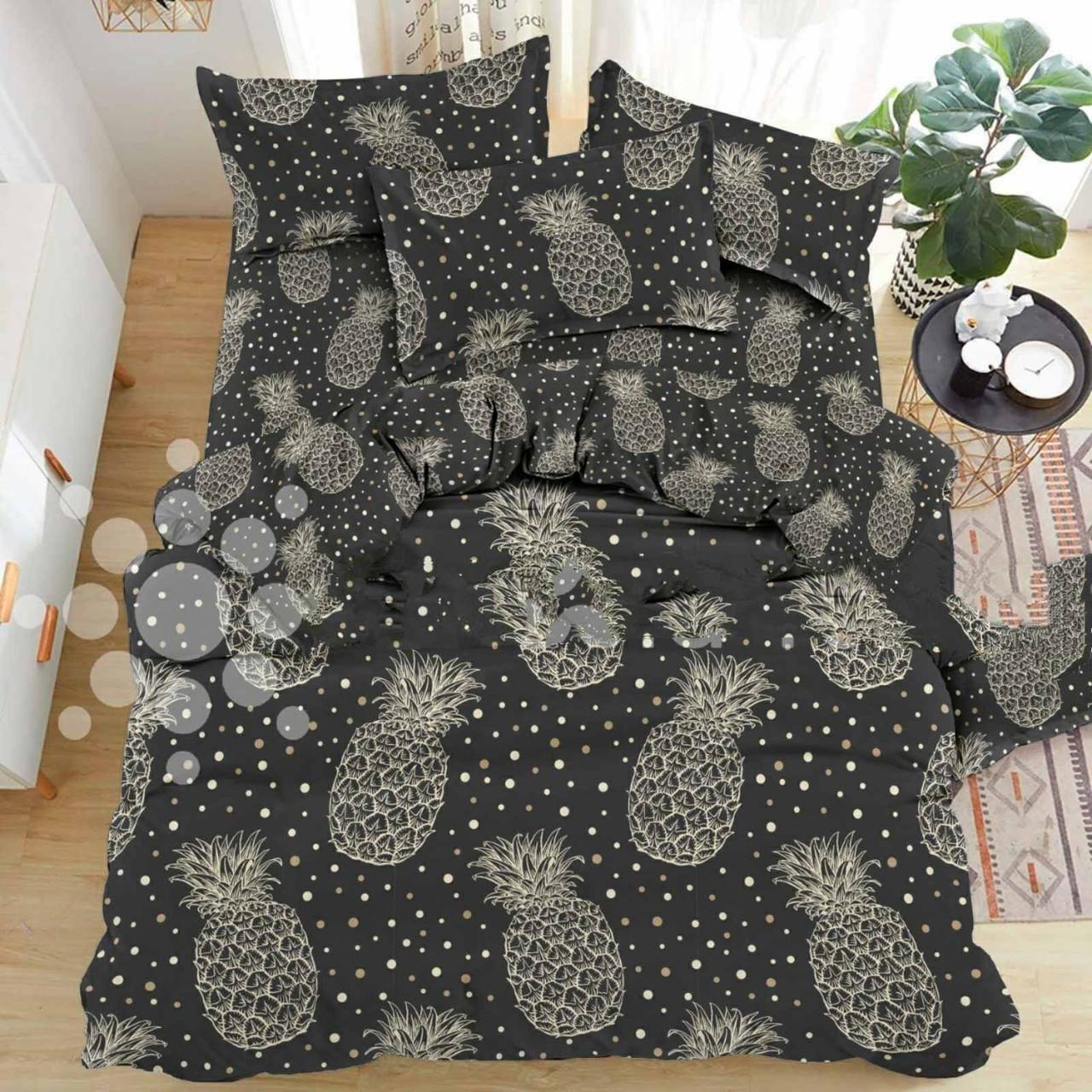Двуспальный постельный комплект-бразильский ананас