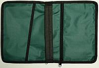 Чехол 038 зеленый для книги 115х160х30 мм.
