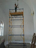 Вишка-тура будівельна пересувна 0.75 х 2.0 (м) 1+3, фото 5