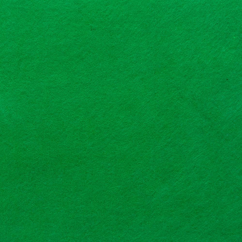 Фетр мягкий 1.2 мм, 42x33 см, ЗЕЛЕНЫЙ