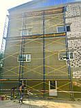 Будівельні рамні риштування комплектація 6 х 3 (м), фото 9