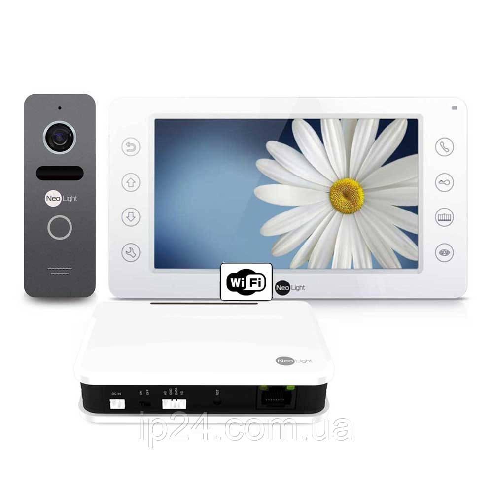NeoLight KAPPA WiFI Box Graphite комплект видеодомофона
