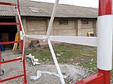 Вишка тура будівельна пересувна 1.7 х 0.8 (м) 1+1, фото 7