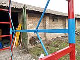 Вишка тура будівельна пересувна 1.7 х 0.8 (м) 2+1, фото 7