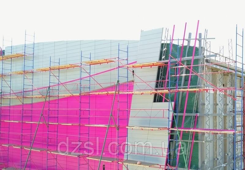 Будівельні риштування клино-хомутові комплектація 2.5 х 10.5 (м)
