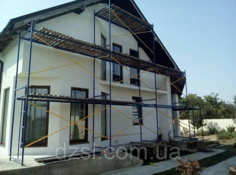 Будівельні риштування рамні комплектація 8 х 3 (м)