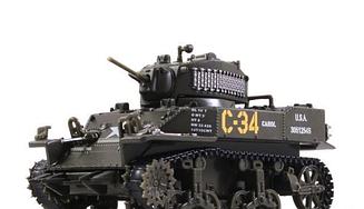 Танки Світу. Колекція M5A1 Stuart (1944) KWB36 | колекційна Модель в масштабі 1:72 | Арсенал-Колекція
