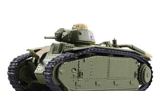 Танки Світу. Колекція №4 Char B1 Bis (1944) | колекційна Модель в масштабі 1:72 | Арсенал-Колекція