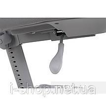 Комплект стол-трансформер Libro Grey+эргономичное кресло Diverso Mint FunDesk, фото 3