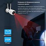 3G 4G GSM Беспроводная наружная Видеокамера 1080P  с записью на SD карту, фото 2