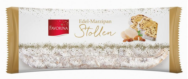 Штоллен Favorina Edel - Marzipan Stollen 1 кг
