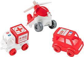 "Набір авто ""Kid cars"" швидка 39549/Wader"