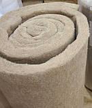 Льняной утеплитель льняные рулоны маты для утепления, фото 2