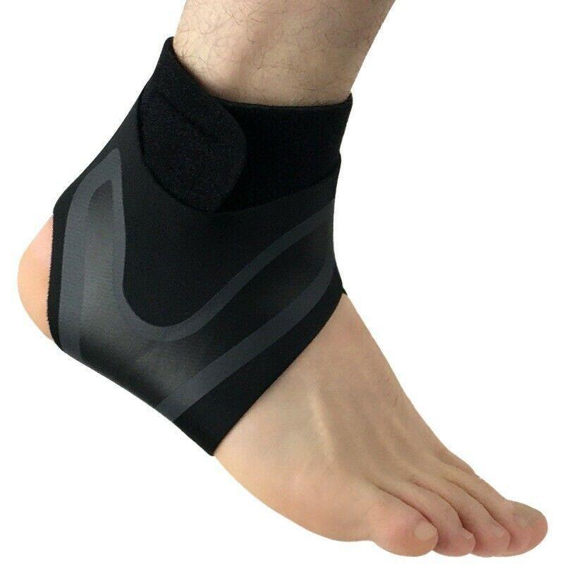 Бандаж эластичная повязка для защиты стопы от растяжения с свободной регулировкой