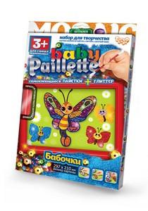 Набір Мозаїка паєтки+глітер Baby Paillete 03 Danko Toys