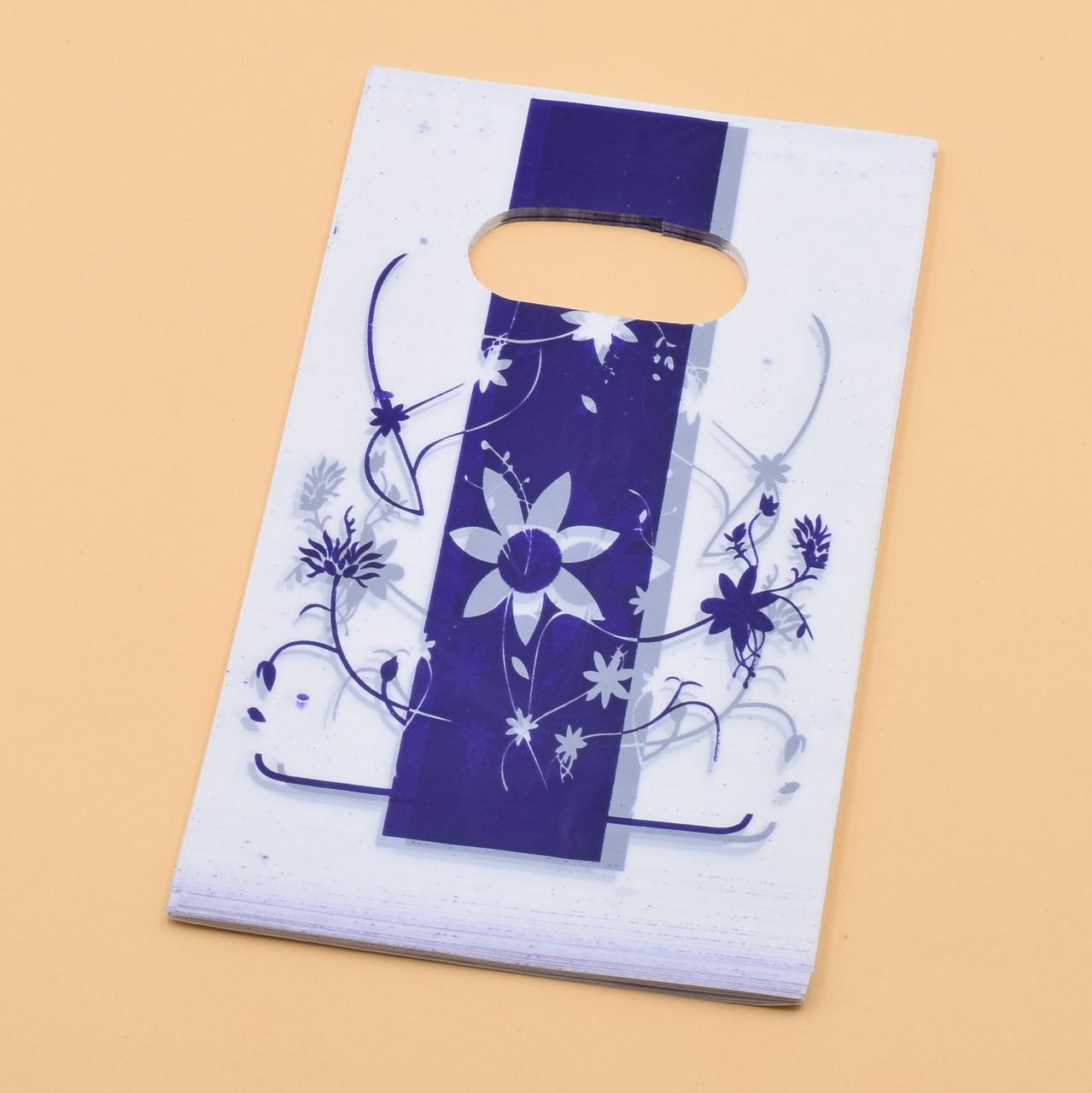 Подарочные пакетики для изделий 50 шт размер 9х15 см (№27)
