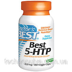 Аминокислота Doctor's Best 5-HTP 100мг 180 капсул