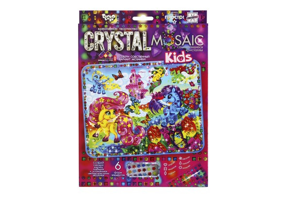 Набір Мозаїка з кристалів Cristal Mosaic Kids 01 Danko Toys