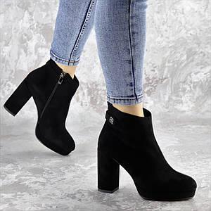 Ботильоны женские Fashion Smooches 2408 35 размер 23 см Черный
