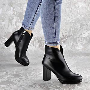 Ботильоны женские Fashion Zuess 2426 35 размер 23 см Черный