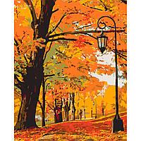 """Картина за номерами """"Золота осінь"""""""