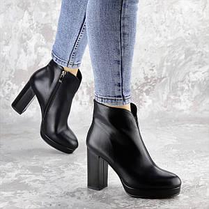 Ботильоны женские Fashion Thunder 2412 35 размер 23 см Черный