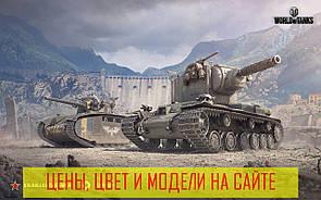 Ігрова поверхня килимок для мишки RAIL танки wot КВ2 BDRG1B