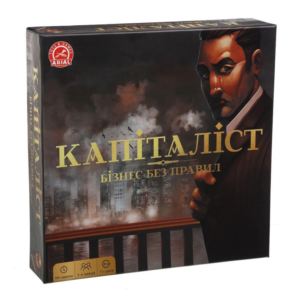 """Настольная игра """"Капиталист"""", укр 20439"""
