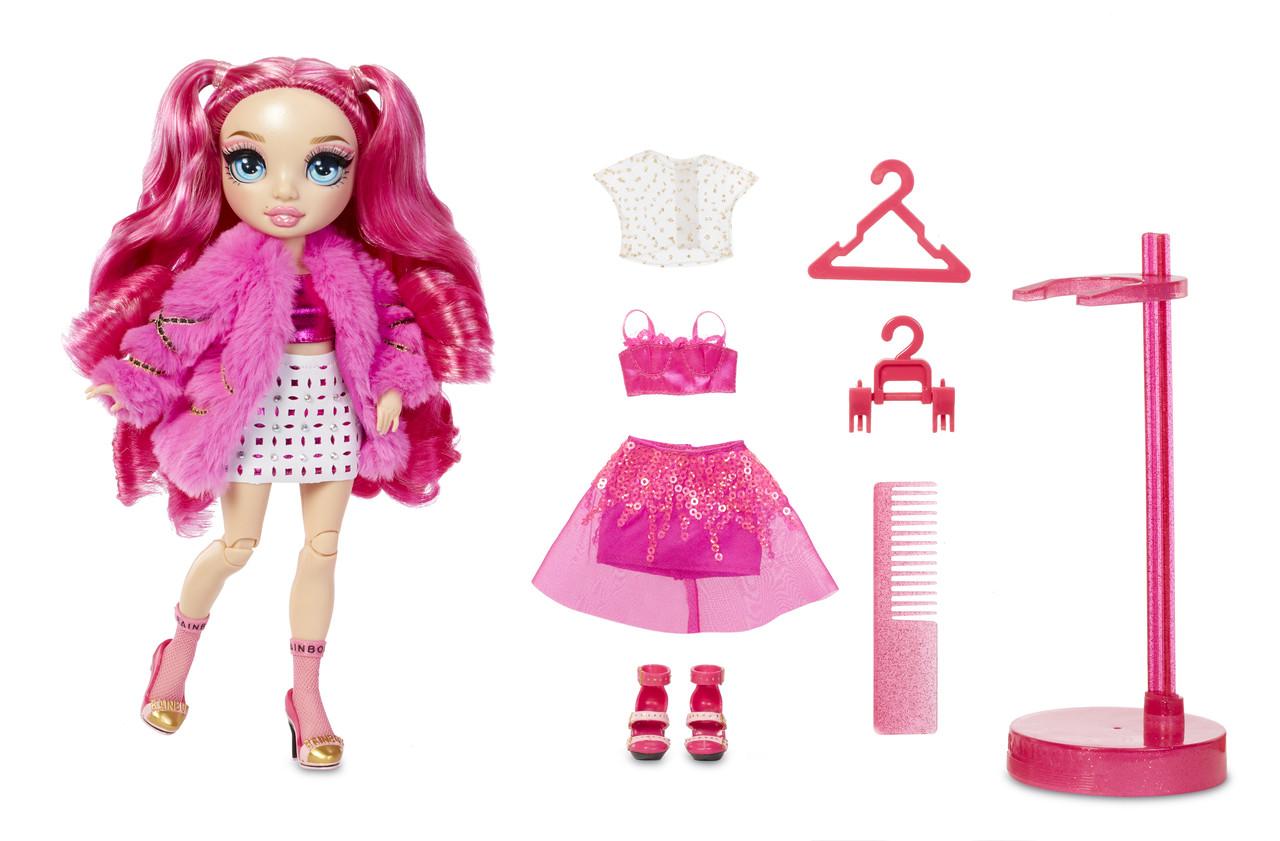 Кукла Рейнбоу Хай серия 2 Стелла Монро Rainbow High S2 Stella Monroe Fuchsia Fashion Doll 572121